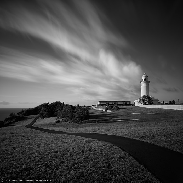 portfolio stock photography | The Macquarie Lighthouse, Sydney, NSW, Australia, Image ID SYDNEY-IN-SQUARE-0005