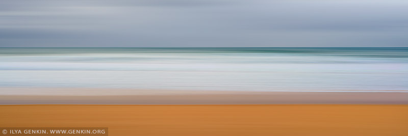 portfolio stock photography | Flow and Motion #2, Narrabeen, Cloudy, Sydney, NSW, Australia, Image ID FLOW-AND-MOTION-0002