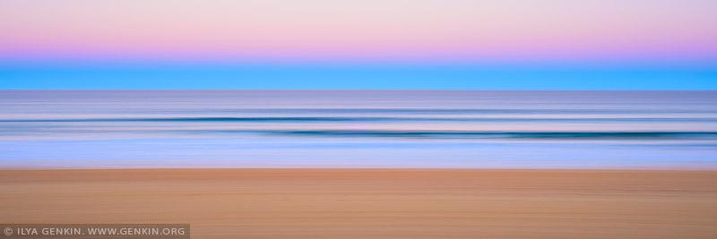 portfolio stock photography | Flow and Motion #3, Narrabeen, Twilight, Sydney, NSW, Australia