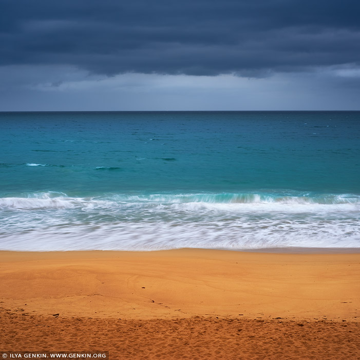 portfolio stock photography | Layers of Sand, Water and Sky, Sydney, NSW, Australia, Image ID AU-PACIFIC-OCEAN-0004