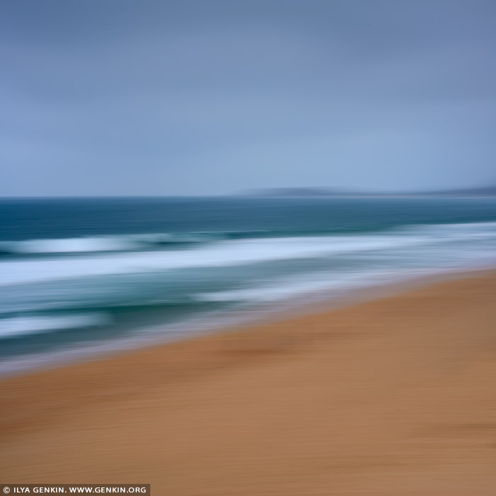 portfolio stock photography | Layers of Sand, Water and Sky #4, Sydney, NSW, Australia, Image ID AU-PACIFIC-OCEAN-0007