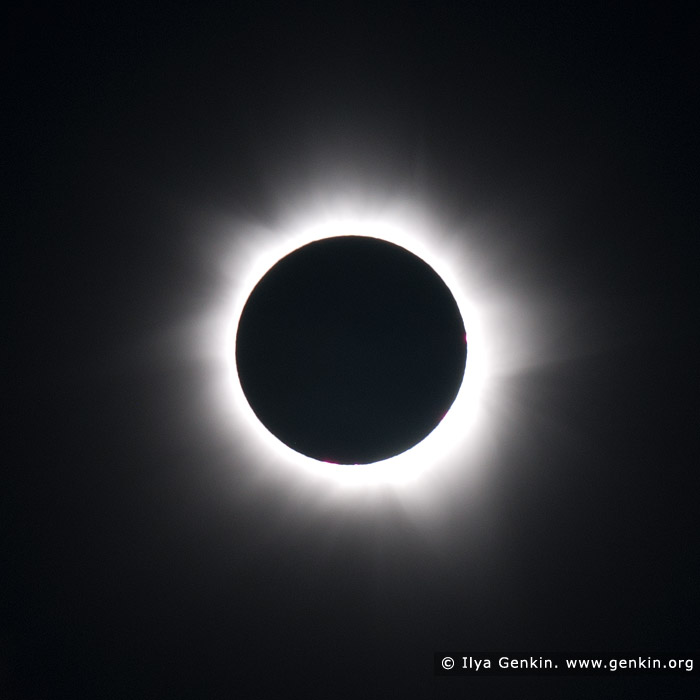 stock photography | The Total Solar Eclipse 2012, Palm Cove, Cairns, Queensland, Australia