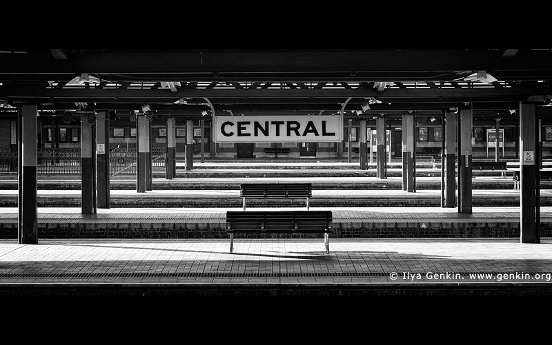 australia stock photography | Sydney Central Train Station, Sydney, NSW, Australia