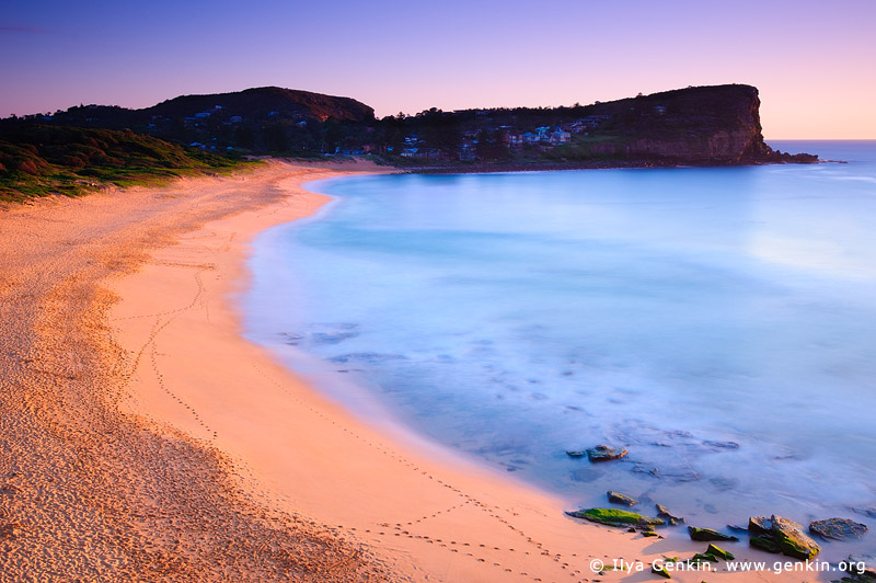 Landscapes Stock Photography Early Morning At Avalon Beach Sydney Nsw Australia